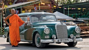 Mercedes-collectie in Thailand