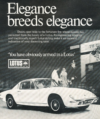 Lotus advertisement
