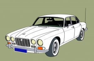 Jaguar XJ6 series 1 trouwauto