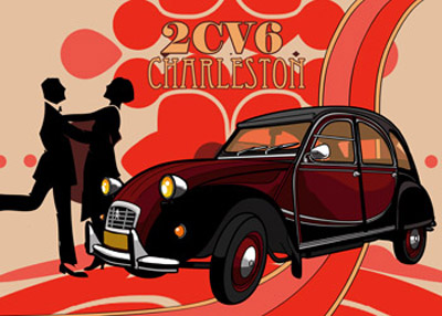 Citroën 2CV6 Charleston © reer-art
